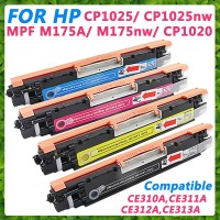KIT 4 TONER COLORIDOS HP LASER (CP1025/ CP1025NW/ M175A/ M175NW/ CP1020